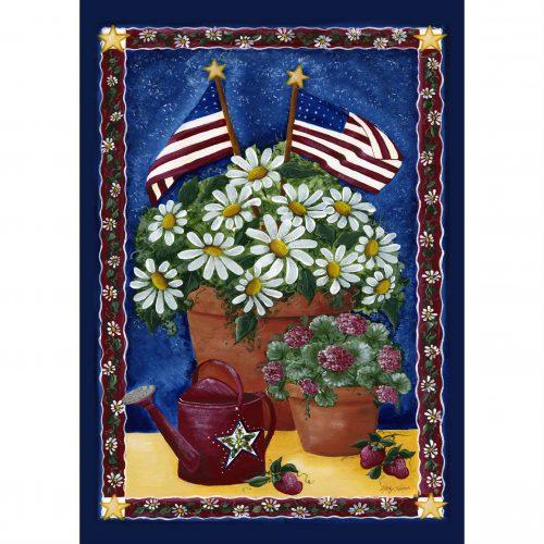 American Daisies Garden Flag