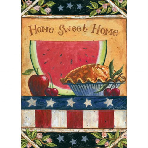 American Folk Garden Flag