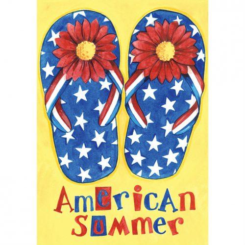American Summer Garden Flag
