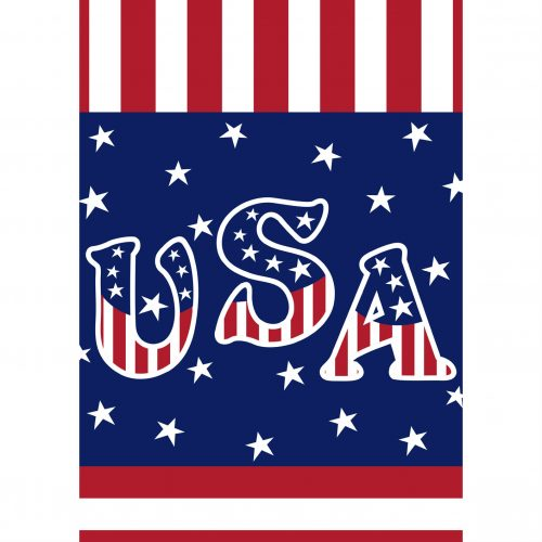 Veterans Salute Garden Flag