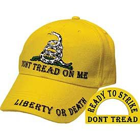 "Gadsden Cap ""Don't Tread On Me"""