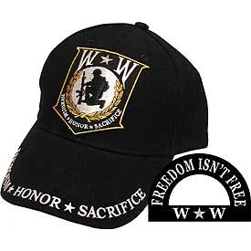 Wounded Warrior Embroidered Hat