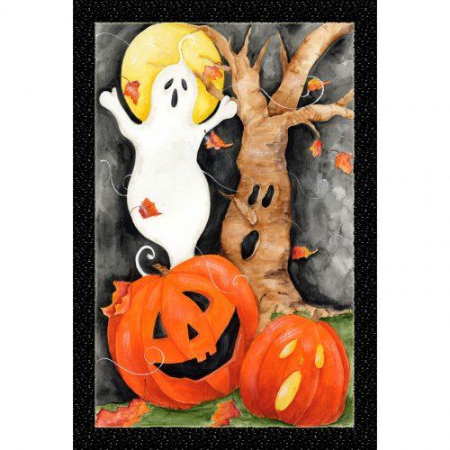 Halloween Scene Garden Flag