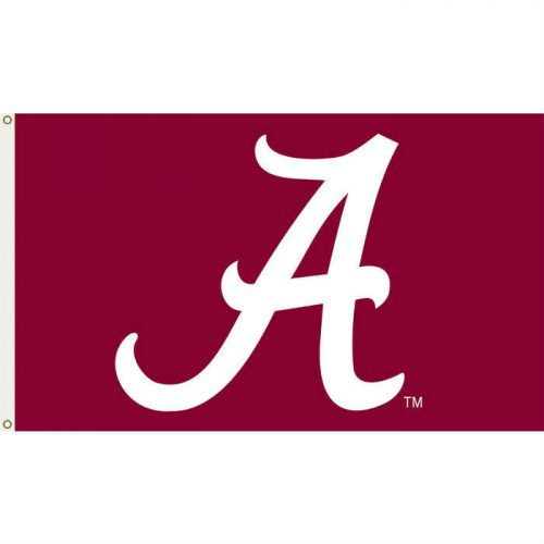 University of Alabama Polyester Flag
