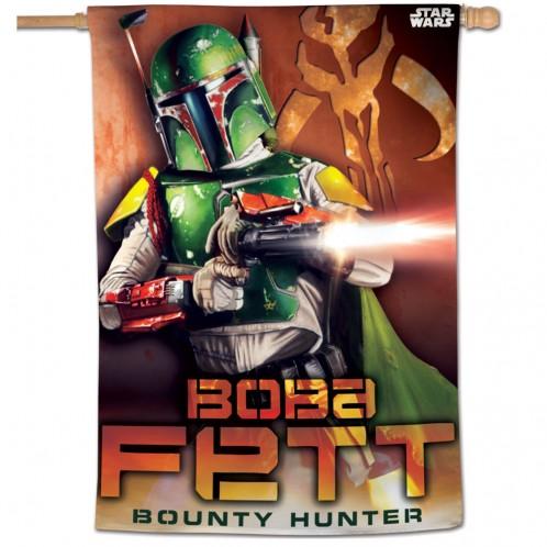 Star Wars Boba Fett Vertical Flag