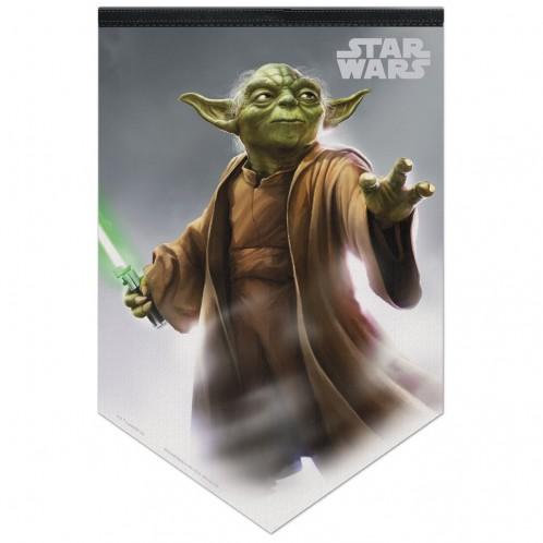 Star Wars Yoda Premium Felt Banner