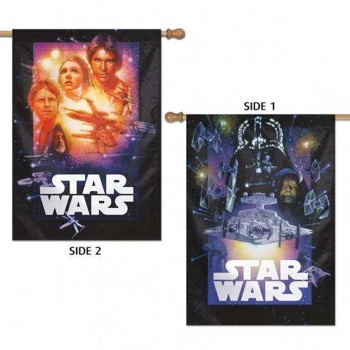 Star Wars Dark Side/Light Side 2-Sided Vertical Flag