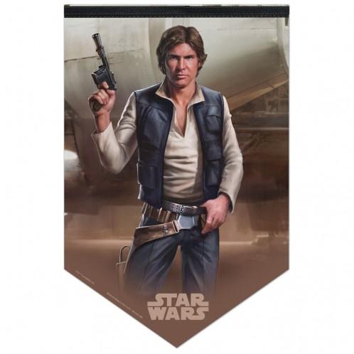 Star Wars Han Solo Premium Felt Banner