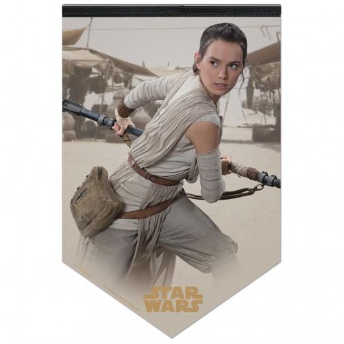 Star Wars Rey Premium Felt Banner