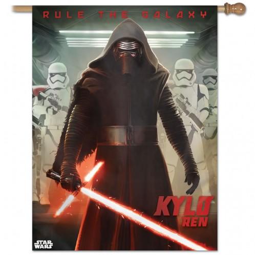 Star Wars Kylo Ren Vertical Flag