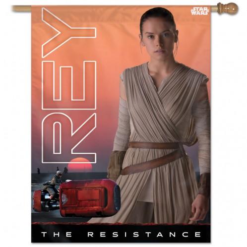 Star Wars Rey Vertical Flag