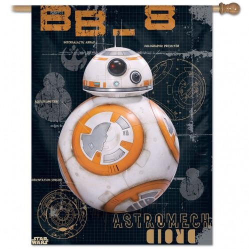 Star Wars BB-8 Vertical Flag