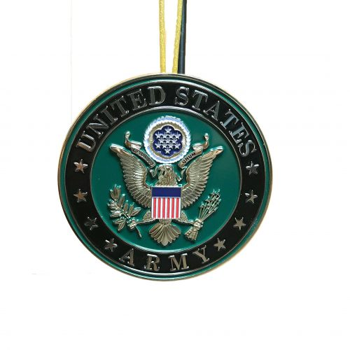 Army Emblem Christmas Ornament