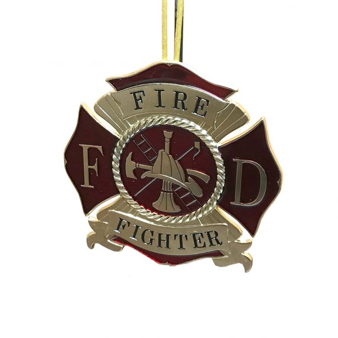 Fireman's Christmas Ornament
