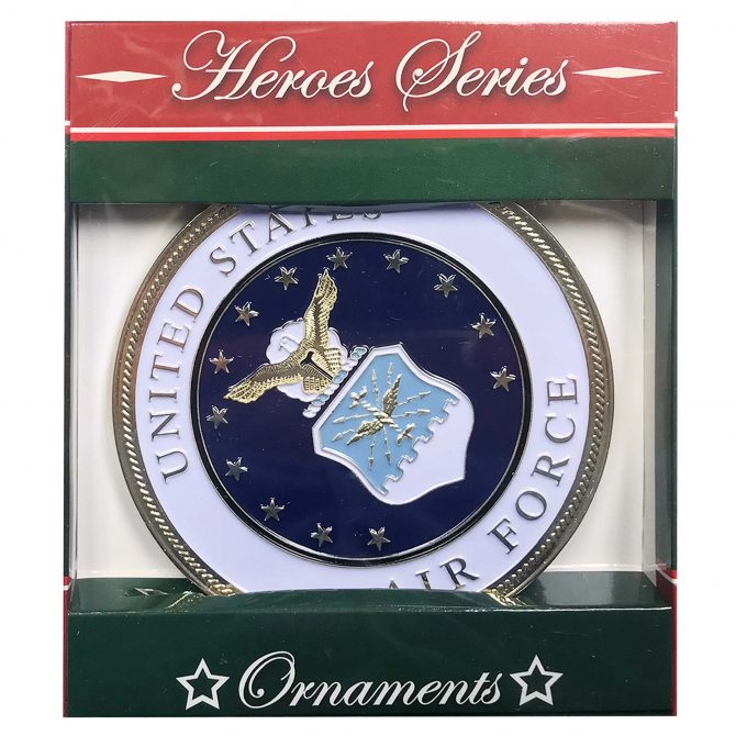 Air Force Emblem Christmas Ornament