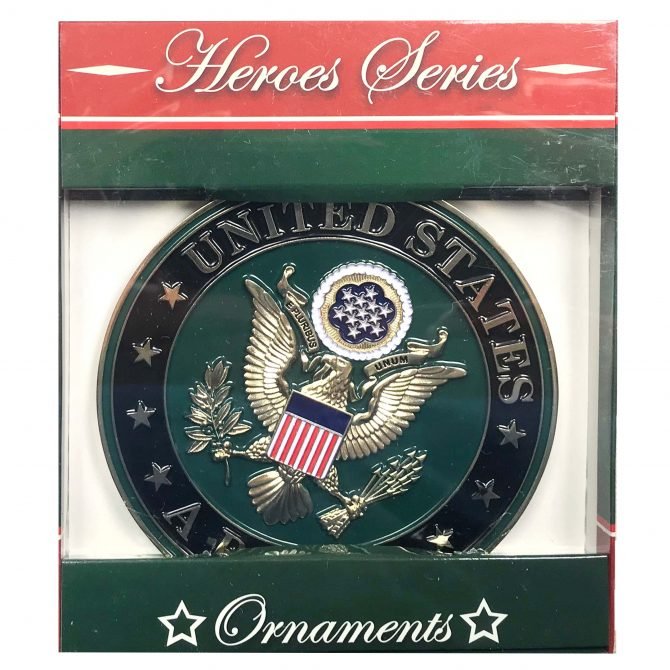 Army Emblem Christmas Ornament