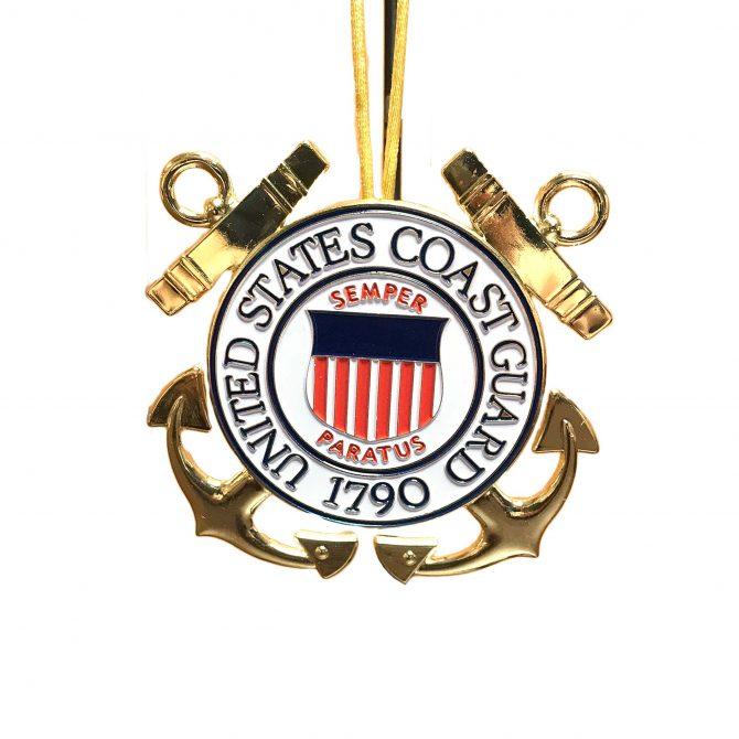 Coast Guard Emblem Christmas Ornament