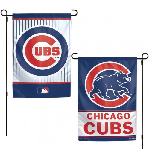 Chicago Cubs 2-Sided Garden Flag