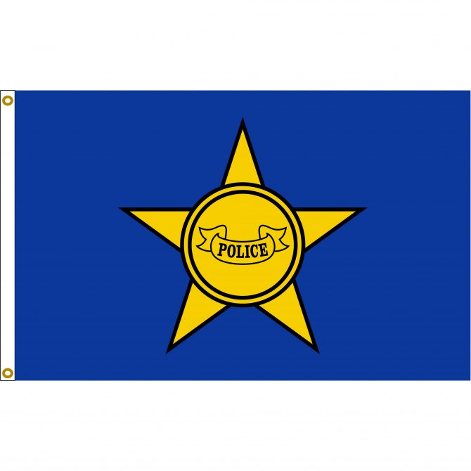 Police Department Flag