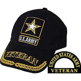 US Army Star Veteran Hat