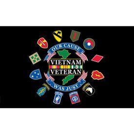 Vietnam Veteran Flag