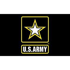 U.S. Army Logo Flag