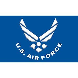 Air Force Logo Poly Flag