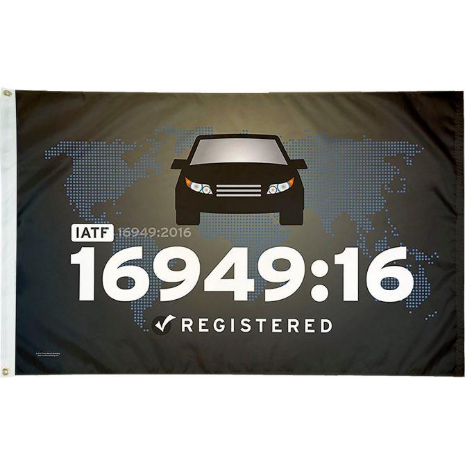 IATF 16949:16 Flag
